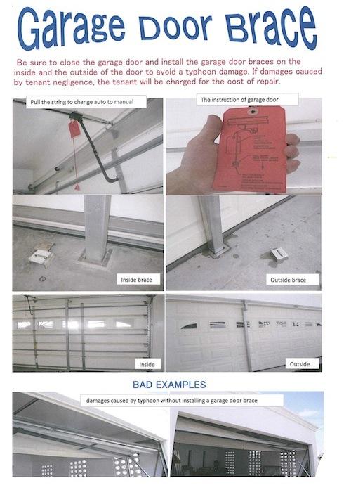 Garage Door Support Hardwares